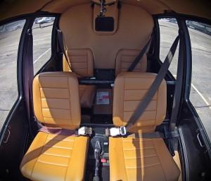 Robinson R44 Aircraft Interior