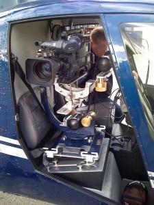R44 camera equipment San Francisco aerial video