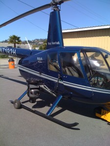 r44 san francisco helicopter bay aerial