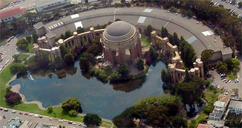 San Francisco Palace of Fine Arts View