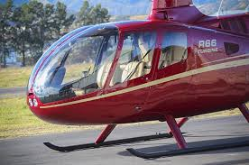 Sideview of R66 5 Seat Helicopter